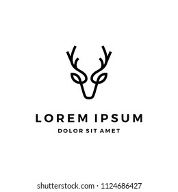 Deer Head Logo Design
