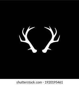 Deer horns vector design EPS 10