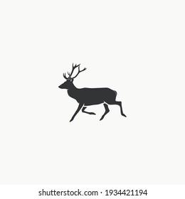 Deer icon graphic design vector illustration