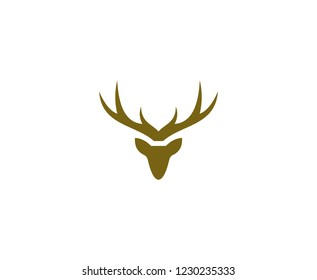 Deer logo head