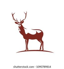 Deer Logo Vector