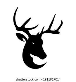 Deer Logo vector animal icon