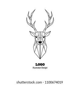 Deer Logo Vector Design
