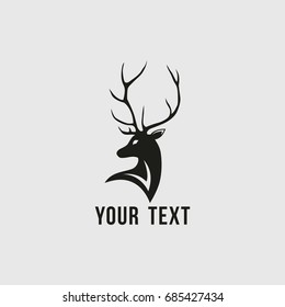 Deer Logo Vector Design Template