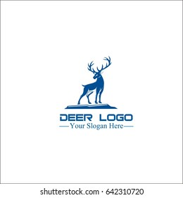deer logo, deer Vector illustration
