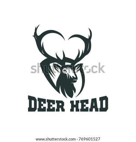 Deer Vector Head For Logo Concept