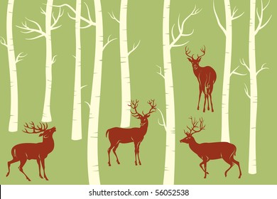 Deers - change the color is one click of mouse