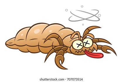 Defeated louse