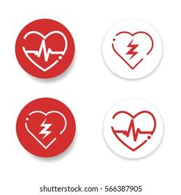 defibrillator icons