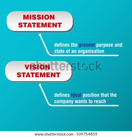 definition mission statement vision statement difference stock