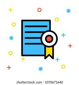 degree achievement certificate