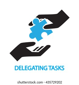delegating tasks,Assignment, duty symbol