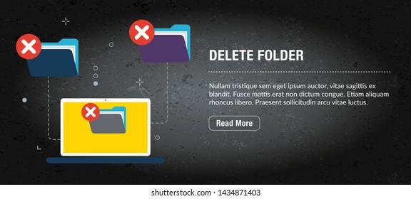 Ilustraciones, imágenes y vectores de stock sobre Delete Internet