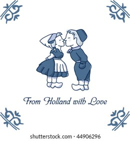 Delft Pottery - Typical Dutch tile - From Holland with Love