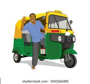 Delhi auto rickshaw