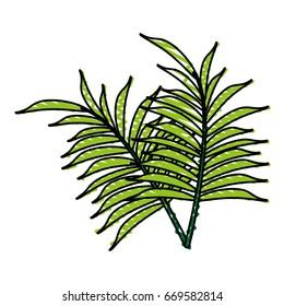 delicate flower doodle image