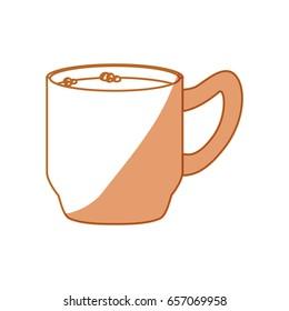 Delicious coffee cup