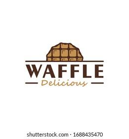 Delicious waffle logo design inspiration