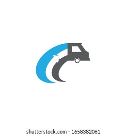 Delifery icon Vector Illustration design Logo template