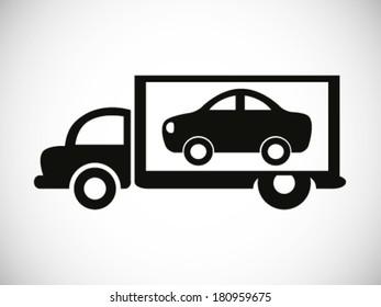 Deliver A Car Symbol