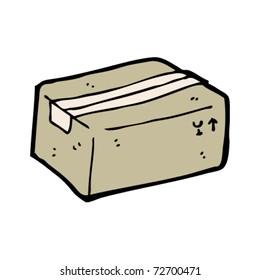 delivery box cartoon
