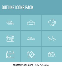 Container Shipping Process Stock Vectors, Images & Vector