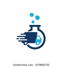 Delivery Lab Logo Icon Design