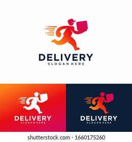 Delivery Logo Design Vector Template