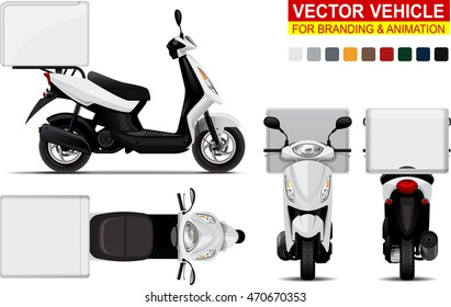 scooter delivery images stock photos vectors shutterstock