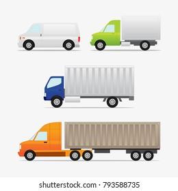 Delivery service Cars vehicle, car transport,transportation illustration.