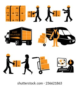 Delivery. Vector illustration