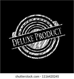 Deluxe Product with chalkboard texture