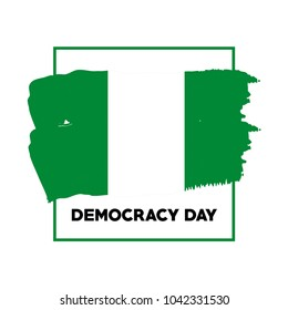 Democracy Day Vector Template Design