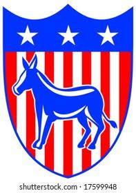 Democrat crest
