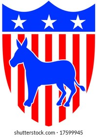 Democrat shield