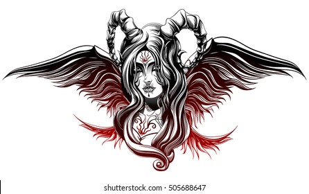 Devil Girl Images Stock Photos Vectors Shutterstock