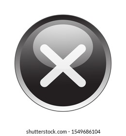 denied Button Icon Vector Design. denied Button Vector design illustration for electronic. web icon push-button denied. vector illustration EPS 10