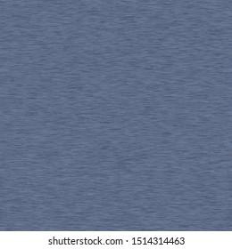Denim Heather Marl Seamless Repeat Vector Pattern Swatch.  Blue knit t shirt fabric texture.