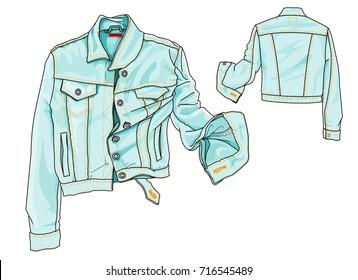 denim jacket images stock photos vectors shutterstock