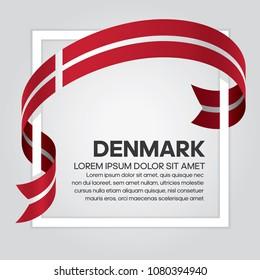 Denmark flag background