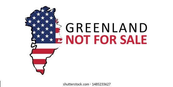 Denmark Greenland for sale sales Greenland Europa flag flags country vector sign signs icon icons fun funny Made Green land world map Not for sale North America USA VS Flag of Greenland Donald Trump