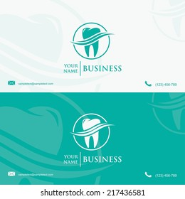 Dentist business card images stock photos vectors shutterstock dental business card template vector illustration accmission