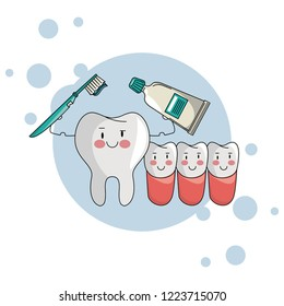 dental care cartoon