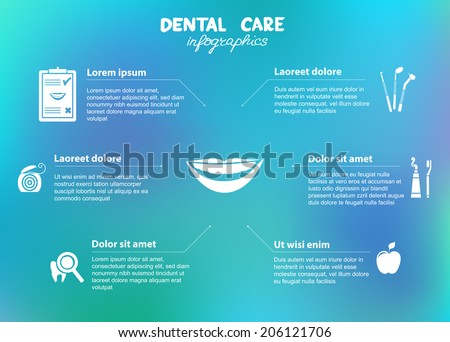 dental-care-infographics-included-symbol