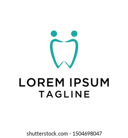 Dental Family Logo  Design Vector