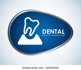 dental graphic design , vector illustration