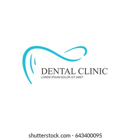 Dental health Clinic Concept Logo Template