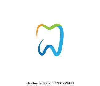 Dental Logo Template Vector Illustration Icon Stock Vector Royalty