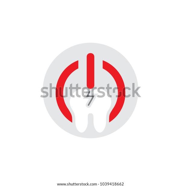 Dental Power Logo Icon Design