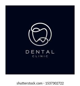 Dental Teeth Logo Design Vector Icon